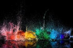 Wonderful Mess | Flickr - Photo Sharing! #water #balloons #color #photography #rainbow
