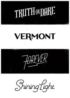 Type on Behance #typography