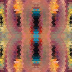 Pattern Collages by Sallie Harrison