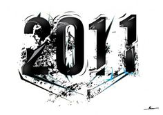 2011 by ~Robinvaneijk #2011 #vector #art