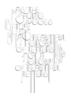 visual sundae #beautiful #type #letterpress #poster