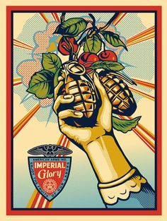 obey_imperial_glory_print 1 #obey #glory #imperial