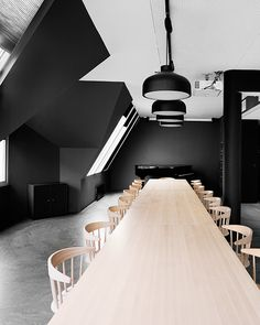 Bergen International Festival by Eriksen + Skajaa #minimalist interior