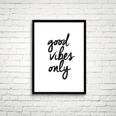 Good Vibes Only #type
