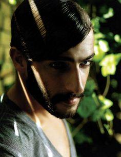Models 1: Nicolaas Van Reenen - Portfolio #hair
