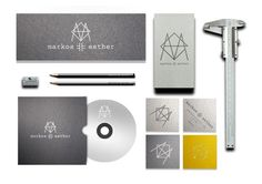 Markos Esther Design Studio Visual Identity #identity