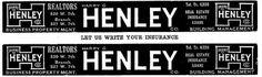 Henley | Flickr - Photo Sharing! #vintage #typography
