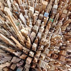 . #wood #model