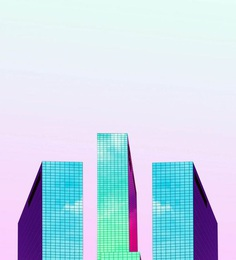 Minimalist and Colorful Architecture Photography by Simone Hutsch