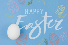 Happy easter day Free Psd. See more inspiration related to Pattern, Mockup, Template, Typography, Spring, Celebration, Happy, Font, Holiday, Mock up, Easter, Plant, Religion, Egg, Painting, Calligraphy, Lettering, Traditional, View, Up, Day, Top, Top view, Cultural, Tradition, Mock, Seasonal and Paschal on Freepik.