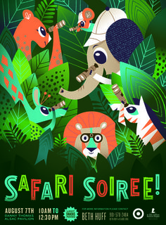amy hardy, illustration, design, animals, safari, soiree, target