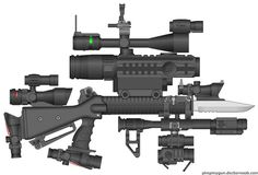 4chan designs guns #gun #4chan #scope
