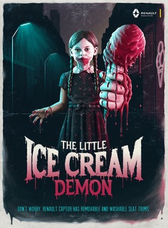 Little Ice Cream Demon -Renault Monster Kids Campaign on Behance