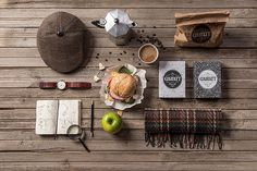 Gawatt Coffee Shop Branding by Backbone #packaging #inspiration #branding
