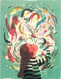 Bubble Girl, PLANSONSPR , AD: SooJIn Buzelli