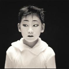 Hiroshi Watanabe. GakuTada, Matsuo Kabuki. Edition in gelatin silver print. 10 x 10 in. © Hiroshi Watanabe