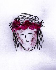 Jesus, Cross, Thorns, Wax, Christ