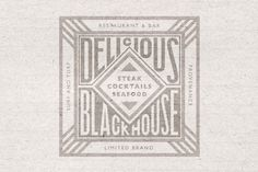 blackhouse_concept_logo #blackhouse #steak #seafood #delicious #cocktails