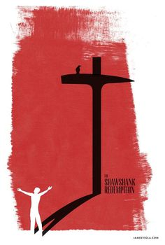 Poster design for the Shawshank Redemption