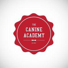 Tom Dear: Graphic Designer #old #school #crest #college #type #dog