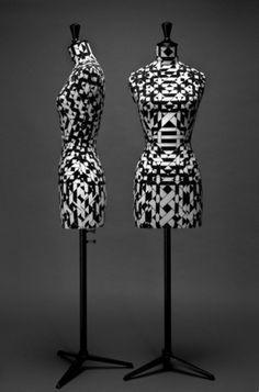 Emmanuel Bossuet: Haute Couture Busts | Monoscope #pattern #emmanuel #busts #bossuet #couture #haute