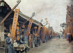 First Color Photographs of China, 1912 albert kahn #china #photogrpahy