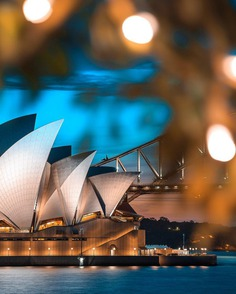 Fantastic Cityscapes of Sydney by Rune Svendsen