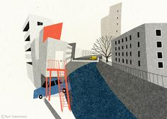 Ryo Takemasa #illustration #street