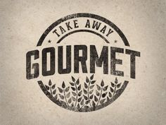 Dribbble - Take Away Gourmet 2.0 by Justin Barber #gourmet