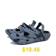Breathable #Casual #Men #Fashion #Sandals #- #LIGHT #SLATE #GRAY