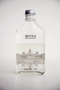 IMPERIA VODKA on Behance #packaging