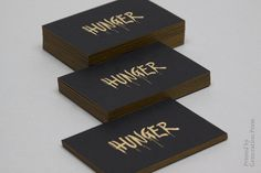 Hunger Stationery
