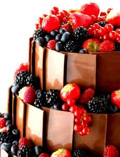 furit wedding cake idea