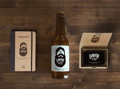 lovely-package-barbiere-5 #beer #bottle #packaging #beard #design #graphic