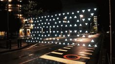 Colossal #geometry #motion #night #gif #street #light