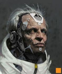 OTAKU GANGSTA #alien #old #cyborg