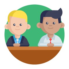 See more icon inspiration related to learn, listen, group, teamwork, team and networking on Flaticon.