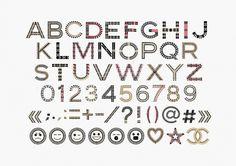 leslie-david-ABC-CHANEL-Fond-gris550_910.jpg (JPEG Image, 910×643 pixels) #cosmetics #font #typography