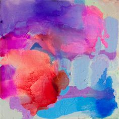 2011 - Strong in the Knees - original acrylic abstract painting by Claire Desjardins