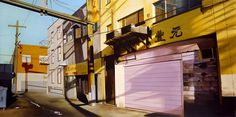 Realistic Urban Paintings by Graeme Berglun_6 #urban #realistic #city #painting #art