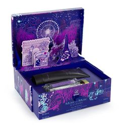 Perfume Packaging #packaging #intricate #night #illustration #colorful
