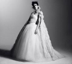 Saskia de Brauw by Daniel Jackson for Vogue Germany #model #girl #photo #photography #fashion