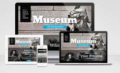 Museum : Free Responsive Drupal Theme