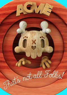 Dead Wood: 3D Illustrations by Teodoru Badiu | Inspiration Grid | Design Inspiration