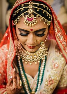 Maatha Patti with Pink Gems