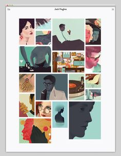 Jack Hughes #website #layout #web