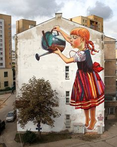 The legend of giants by NataliaRak on deviantART #painting #wall #mural #art