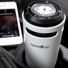speeCup Siri/S Voice Activated Portable Bluetooth Speaker #gadget