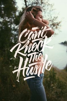 The Hustle by Lucas Young #typography