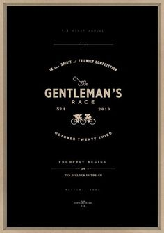 store #gentleman #bike #poster #race